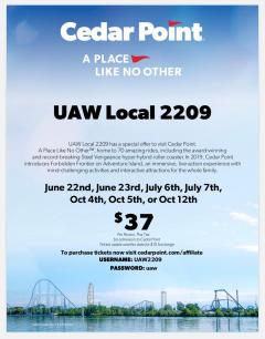 Local 2209 Benefits | UAW Local 2209